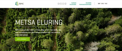 Estonian State Forest Management Centre trucks will start using Timbeter