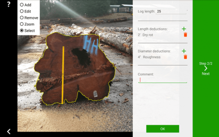 Single High-Value Logs Measurement Feature