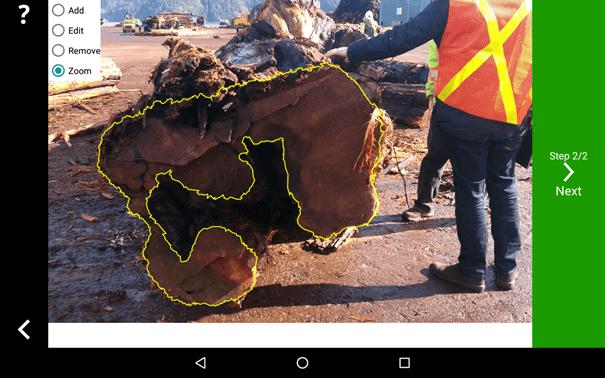 ¿Cuán preciso es el Timbeter para medición exacta de troncos?