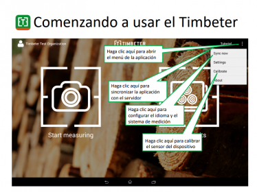 Medición de troncos de madera – Comenzando a usar el Timbeter