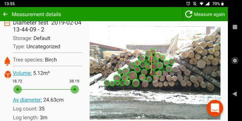 Loading logs on trucks? Meet Timbeter's loading tool