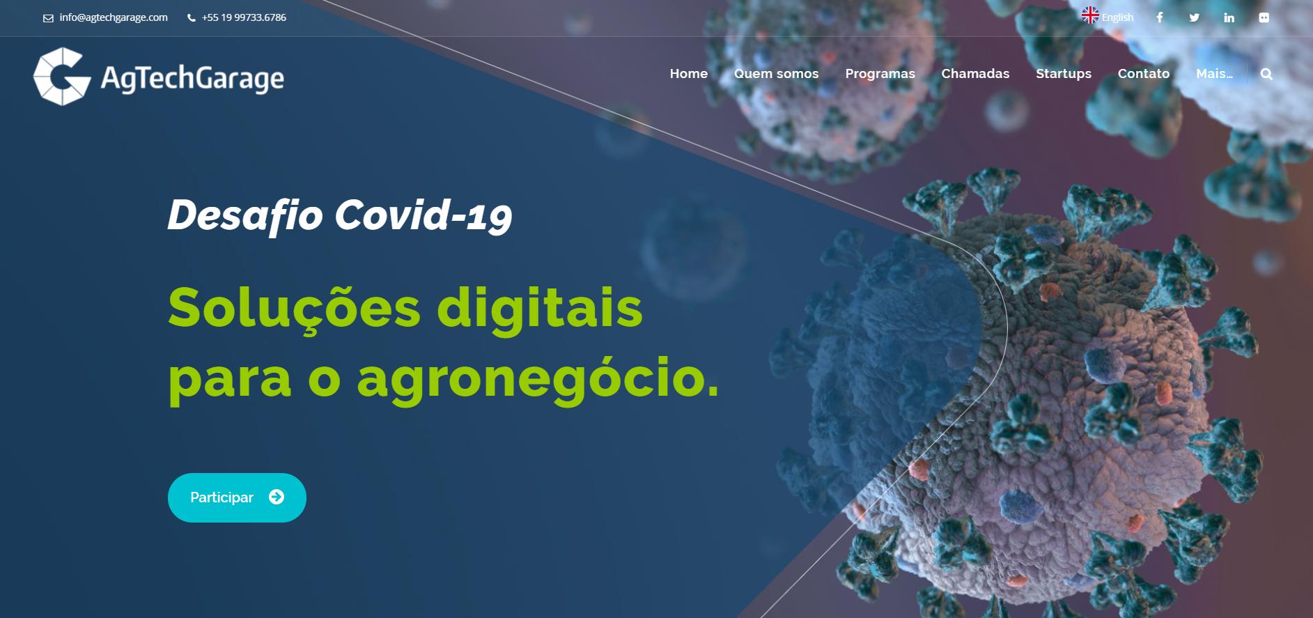 O Timbeter ajudará a combater os efeitos da COVID-19 na produção agrícola brasileira