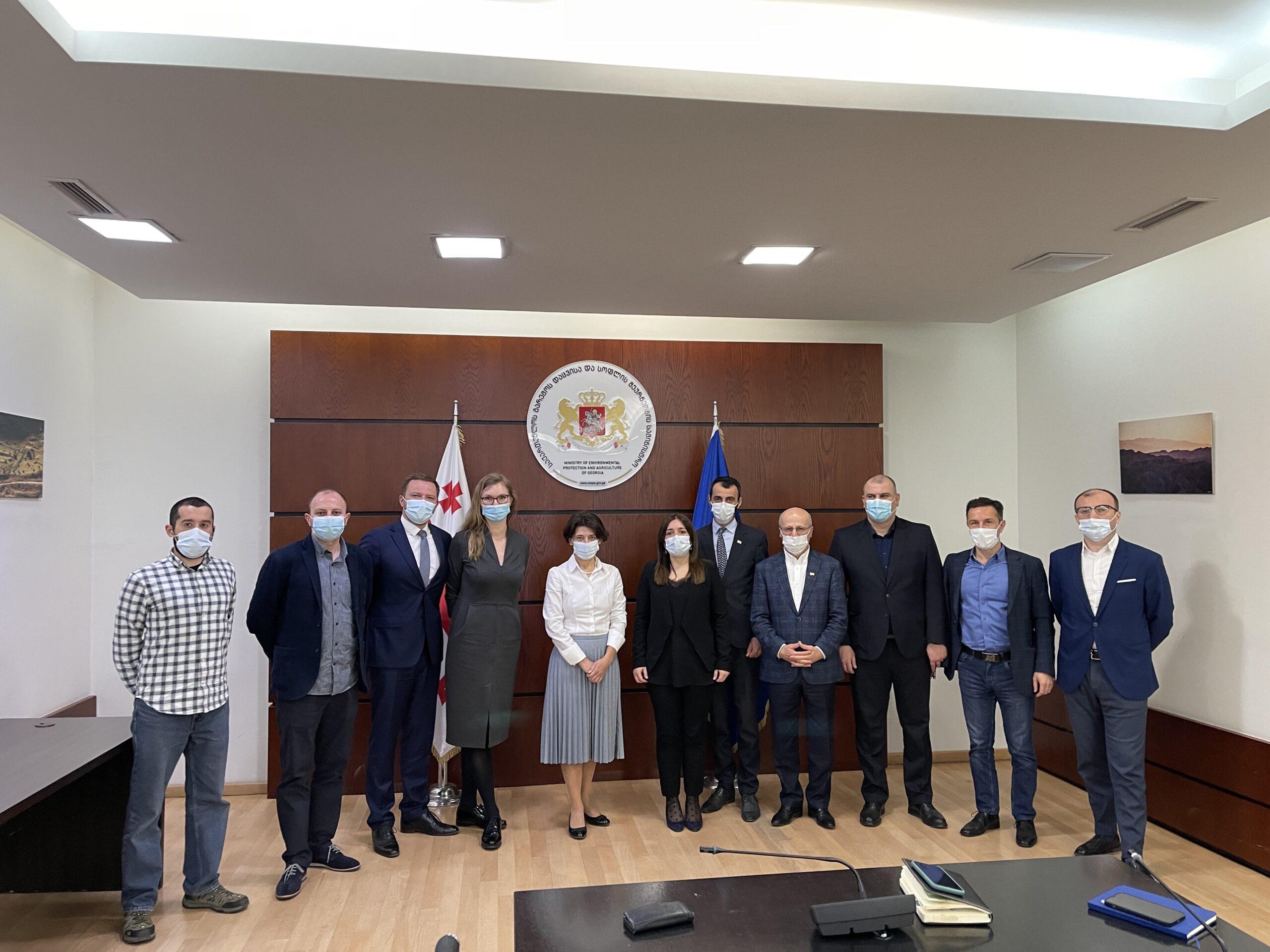 Timbeter y el gobierno de Georgia inician cooperación para fortalecer las prácticas forestales sostenibles en Georgia