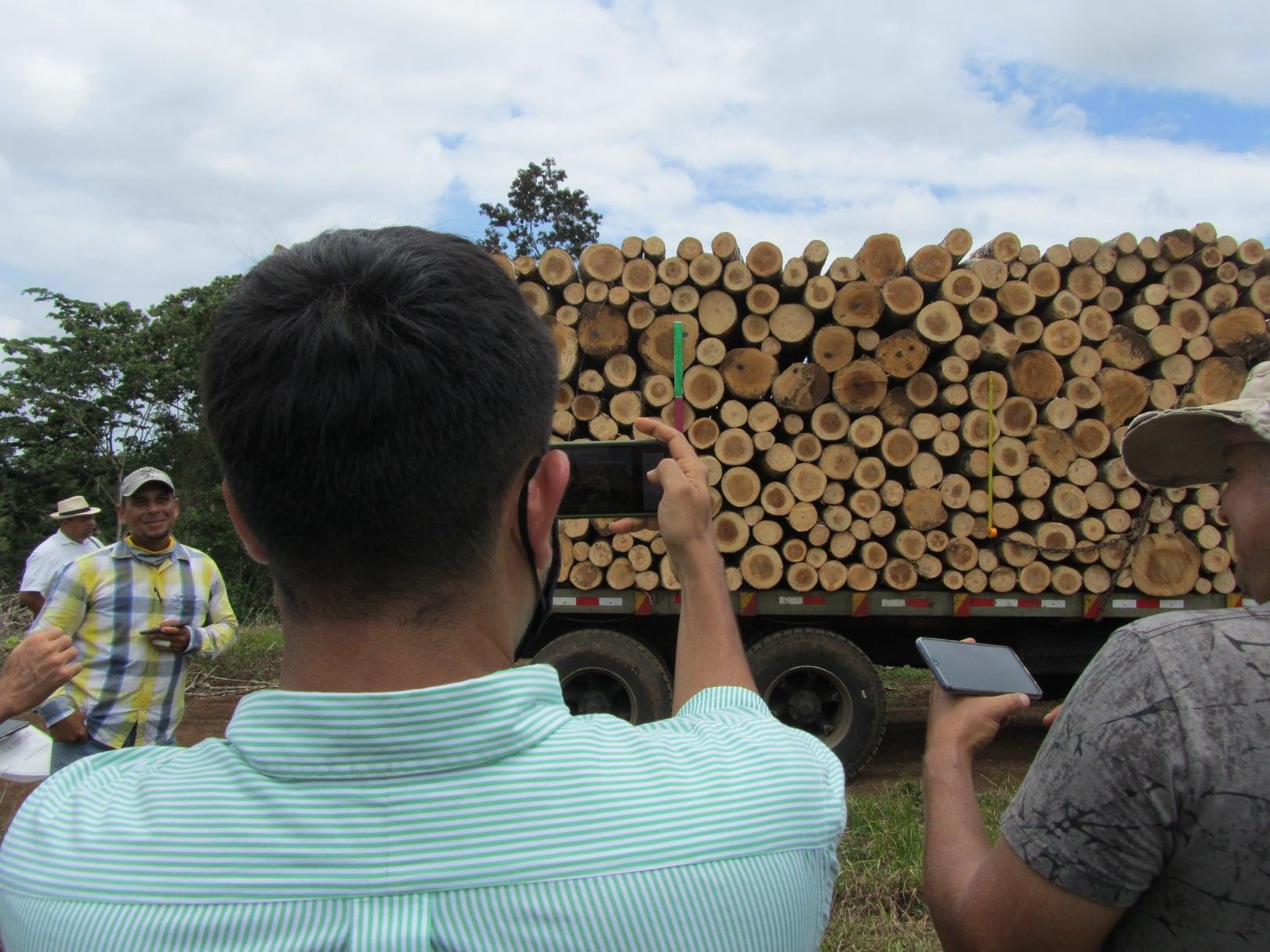 Actividad de intercambio de experiencias en el uso de Timbeter en Costa Rica