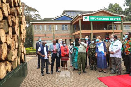 Timbeter lanza proyecto de cooperación con el Servicio Forestal Estatal de Kenia